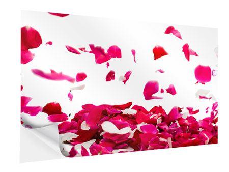 Klebeposter Für mich soll`s rote Rosen regnen