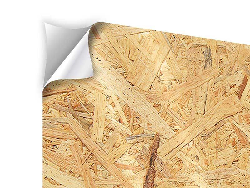 Klebeposter Gepresstes Holz