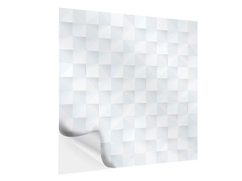 Klebeposter 3D-Schachbrett