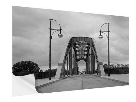 Klebeposter Poetische Brücke