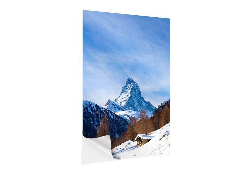 Klebeposter Das Matterhorn