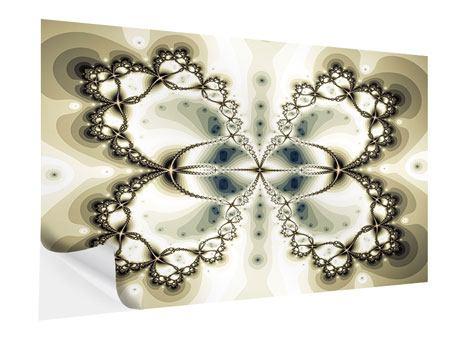 Klebeposter Abstrakter Schmetterling