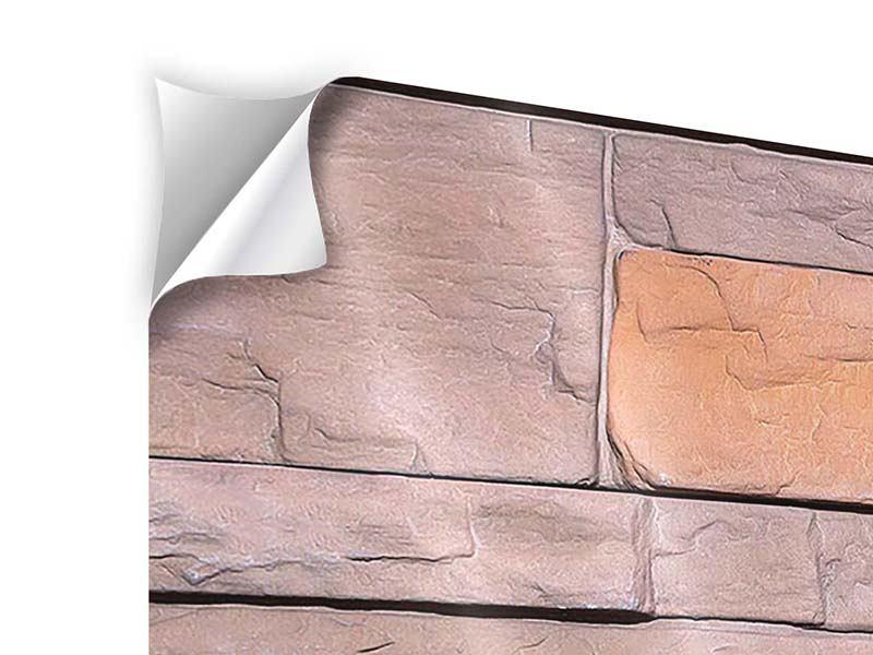 Klebeposter Wall