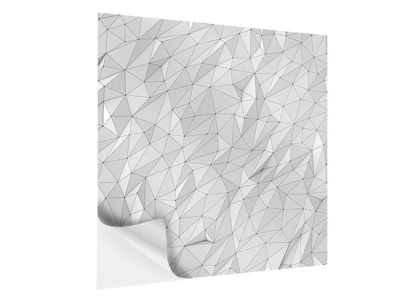 Klebeposter 3D-Geo