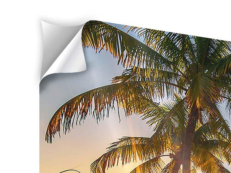 Klebeposter Das Strandhaus