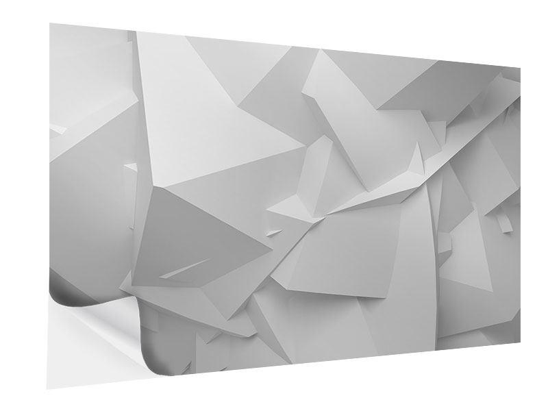 Klebeposter 3D-Raster