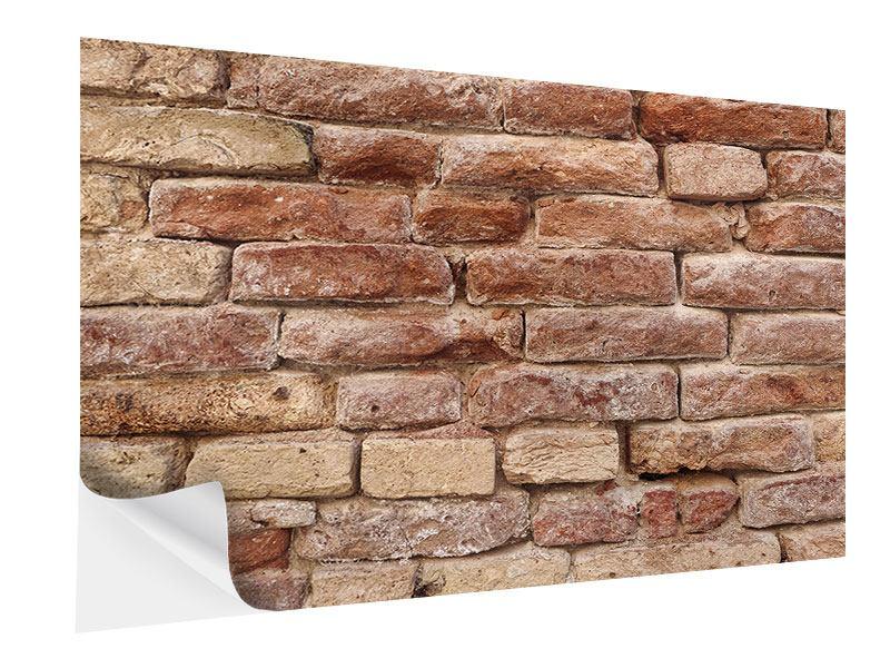 Klebeposter Loft-Mauer