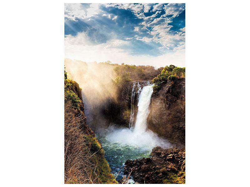 Klebeposter Victoria Falls