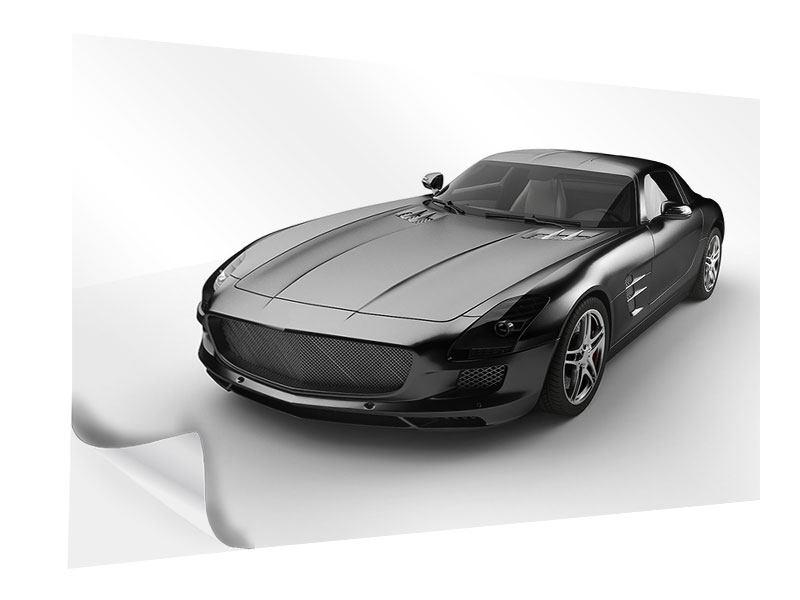 Klebeposter 007 Auto