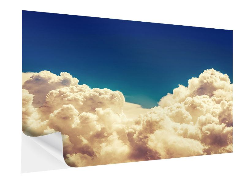 Klebeposter Himmelswolken