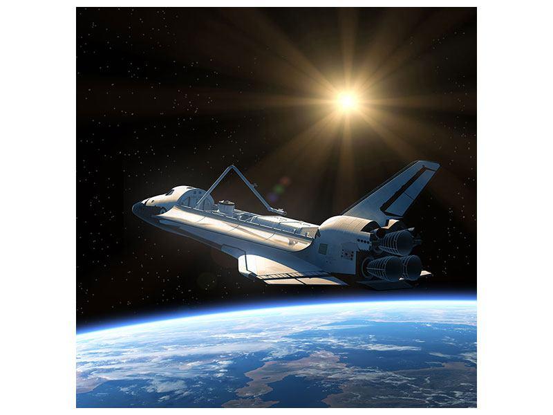 Klebeposter Das Raumschiff