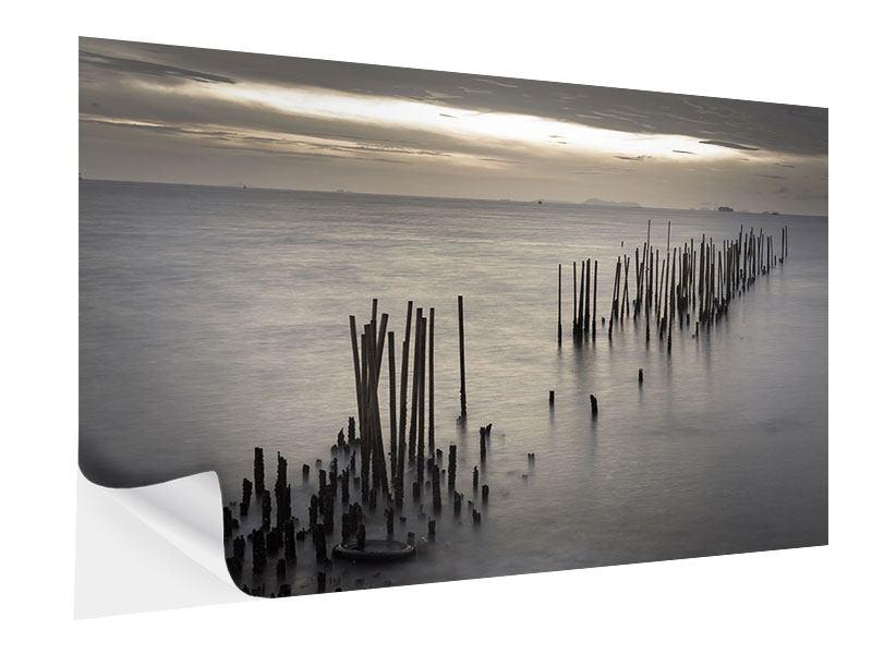 Klebeposter Das Meer und die Träne