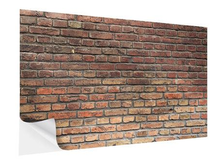 Klebeposter Brick Wall