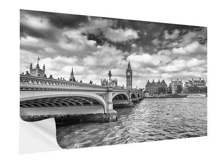Klebeposter Westminster Bridge