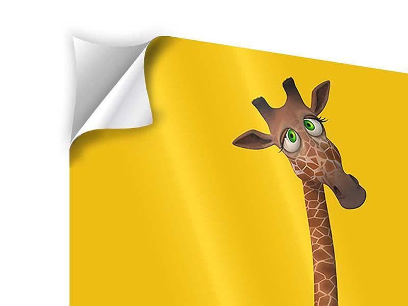 Klebeposter Giraffensweety