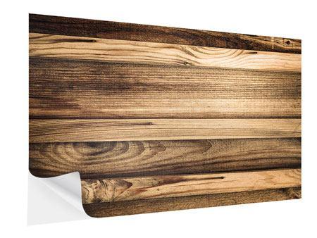 Klebeposter Holztrend