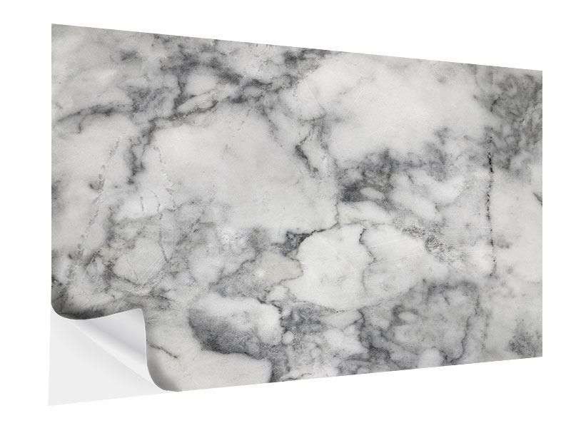 Klebeposter Klassischer Marmor