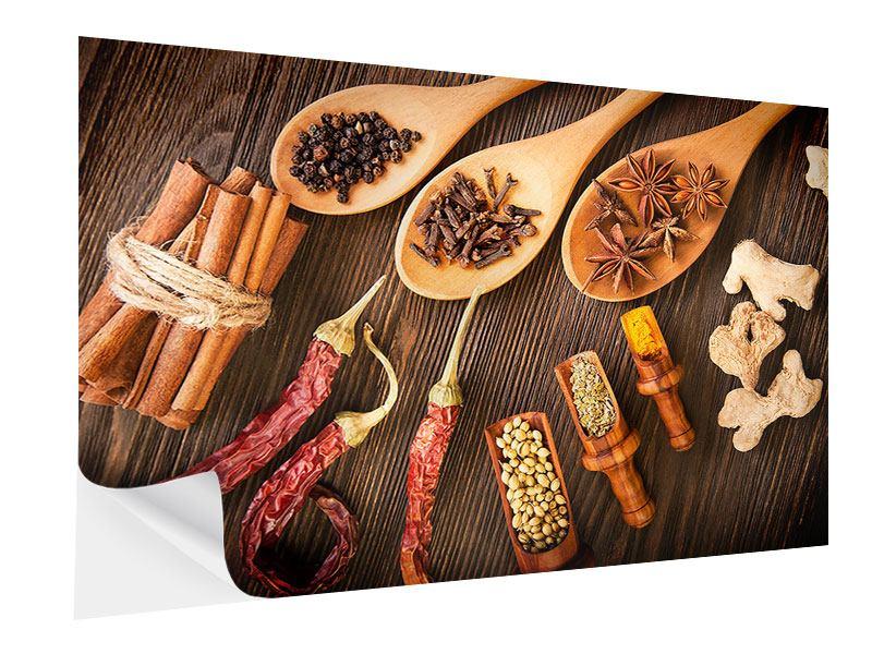 Klebeposter Orientalische Gewürze