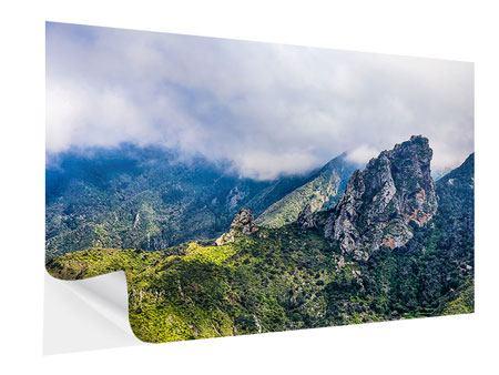 Klebeposter Der stille Berg