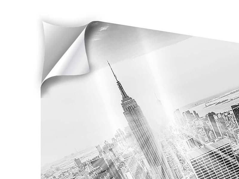 Klebeposter Wolkenkratzer New York
