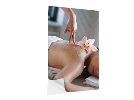 Self-Adhesive Poster Spa Massage