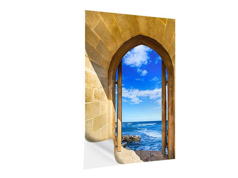 Klebeposter Das Tor zum Meer