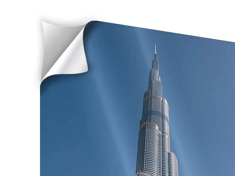Klebeposter Wolkenkratzer Dubai