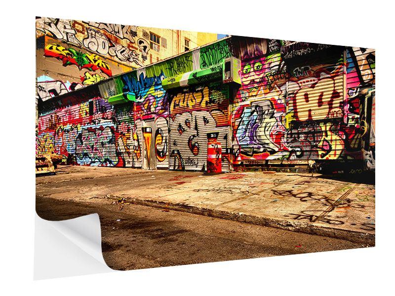 Klebeposter NY Graffiti