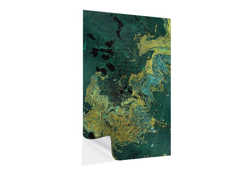 Klebeposter Kunstvoller Marmor