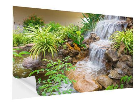 Klebeposter Paradiesgarten