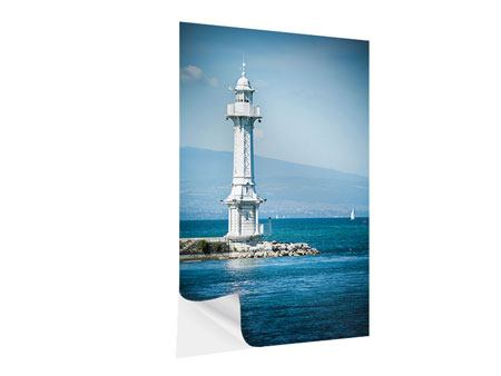 Klebeposter Genfer Leuchtturm