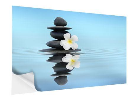 Klebeposter Zen Steine
