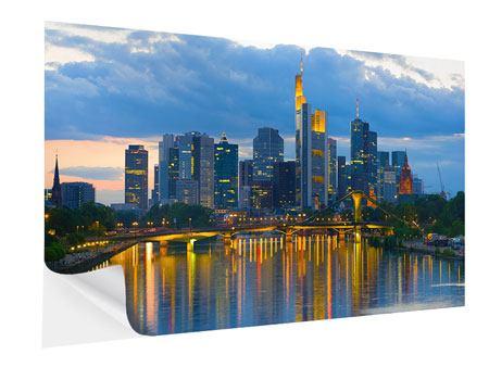 Klebeposter Skyline Frankfurt am Main