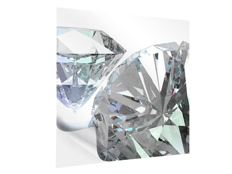 Klebeposter XXL Diamant