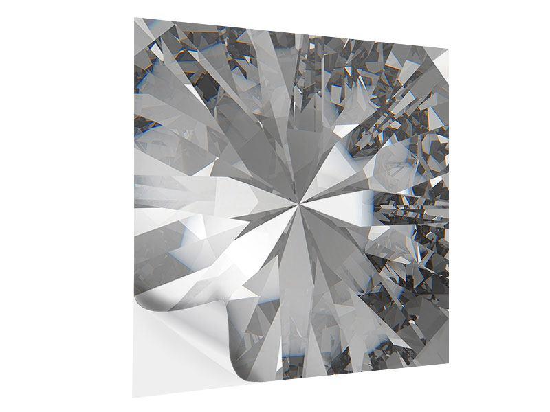 Klebeposter Riesendiamant