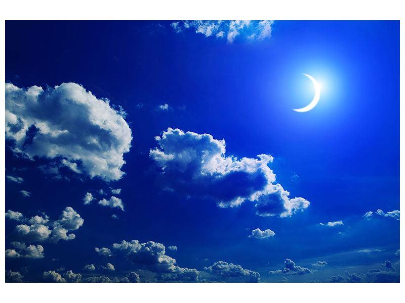 Klebeposter Der Mond