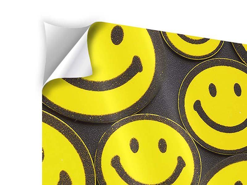 Klebeposter Smileys