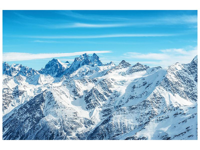 Klebeposter Alpenpanorama