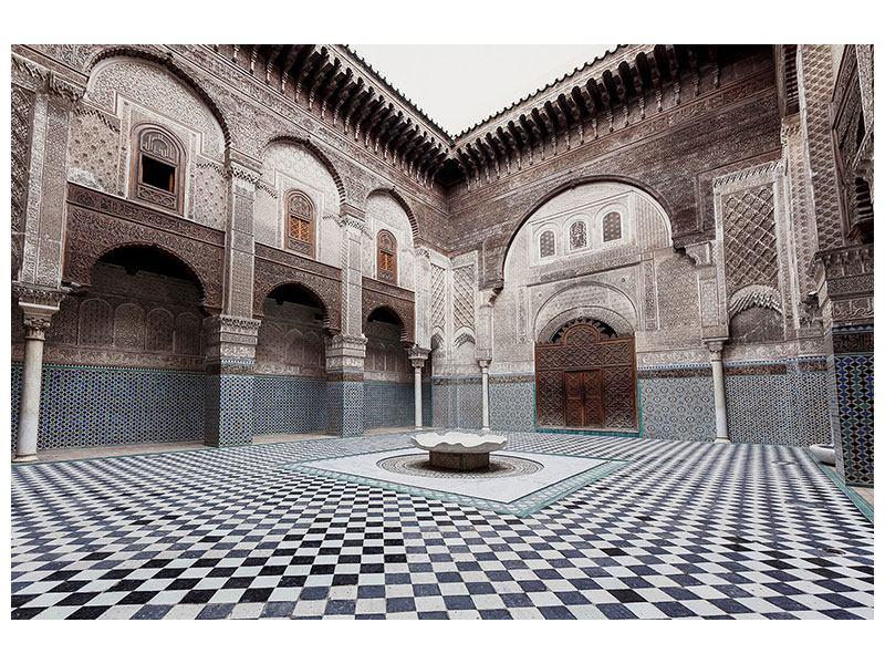 Klebeposter Orientalischer Hinterhof