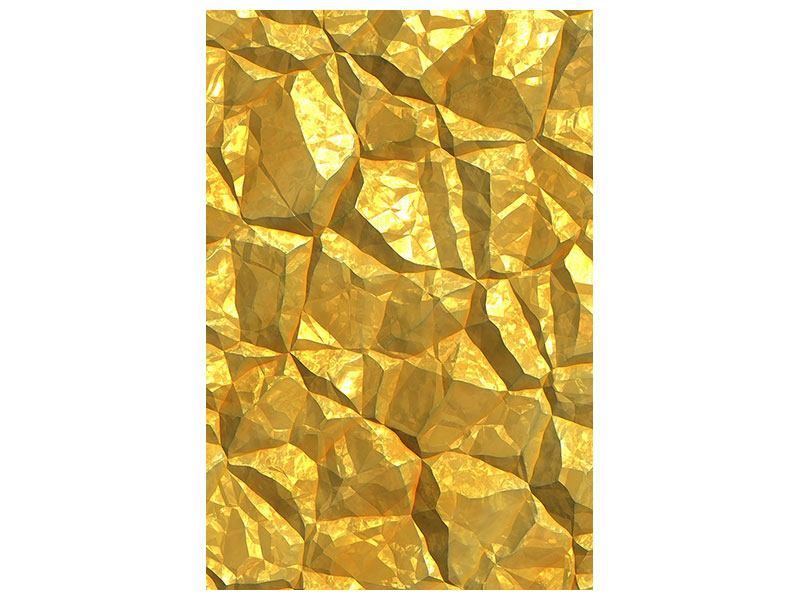 Klebeposter Gold