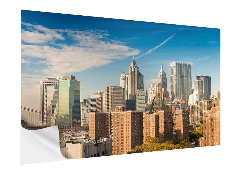 Klebeposter Skyline New York