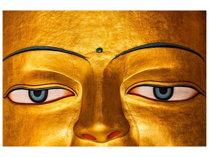 Klebeposter Die Augen eines Buddhas