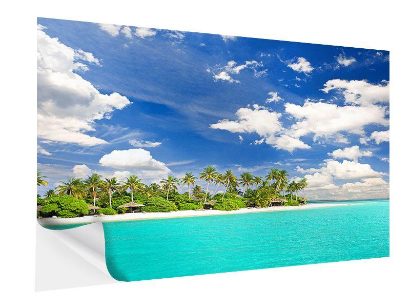 Klebeposter Meine Insel