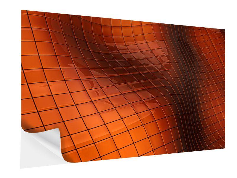Klebeposter 3D-Kacheln