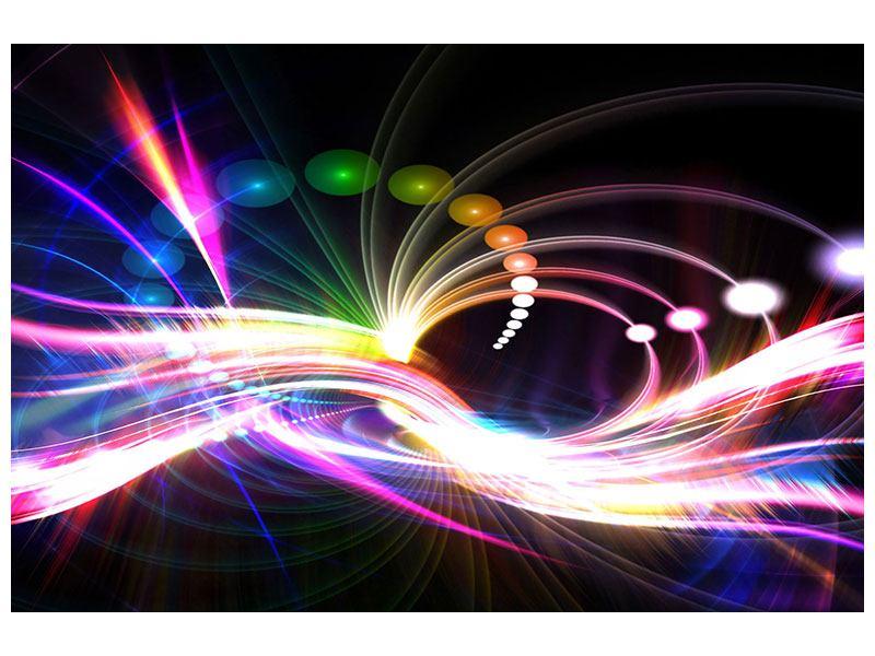 Klebeposter Abstrakte Lichtreflexe