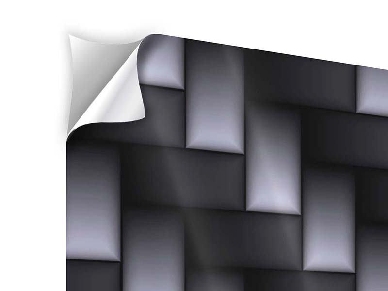 Klebeposter 3D-Treppen