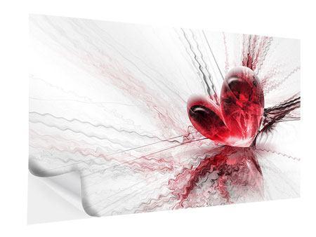 Klebeposter Herzspiegelung