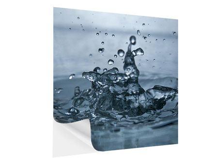 Klebeposter Wassertropfen