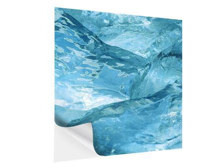 Klebeposter Cooler Eislook