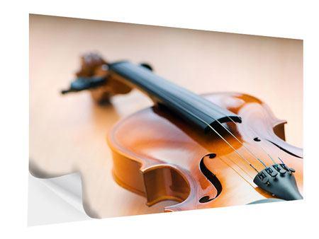 Klebeposter Geige